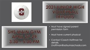 JH Tryout Info