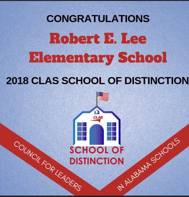 Robert E. Lee Elementary School named 2018 CLAS School of Distinction