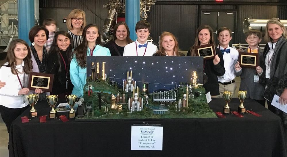 REL's Future City Leaders Win Big at State Competition